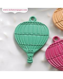 10-pc Charm: Blue Balloon