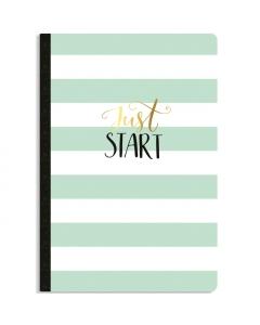 Just Start Undated Calendar Notebook