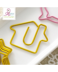20-pc Paperclip Bulk: House Gold