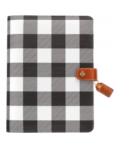 Buffalo Plaid A5 Binder