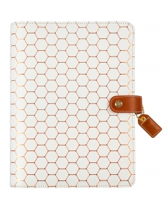 Copper Hexagon A5 Binder