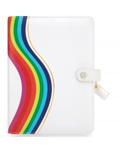 Rainbow A5 Binder