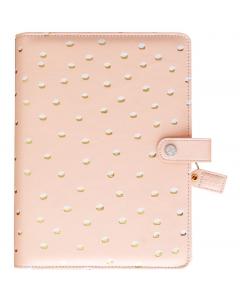 A5 Blush & Gold Foil Dot Planner Kit