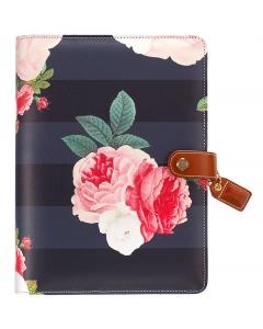 Black Floral A5 Kit