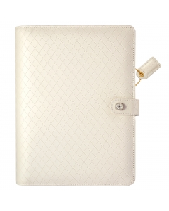 Diamond White A5 Binder