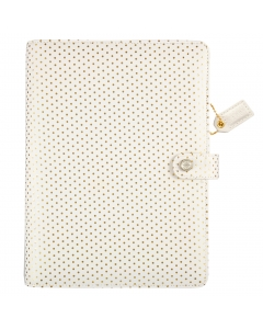 Gold Dot A5 Binder