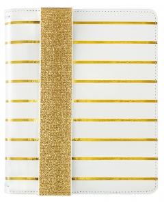 A5 Bullet Planner (no journal) - Gold Stripe