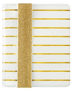 A5 Bullet Planner Kit - Gold Stripe