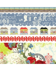 All About Me Fabric Ribbon