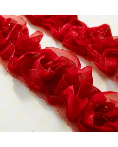 Bloomer 1yd Red Sparkle
