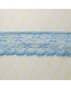 Blue Lace Trim