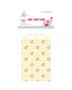 Bulk Bags: Yellow Floral