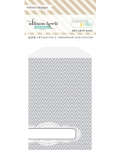 Bulk Bags Chevron: Grey