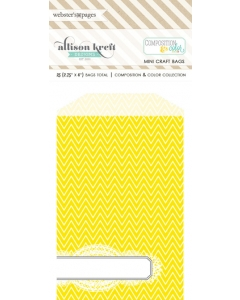 Bulk Bags Chevron: Yellow