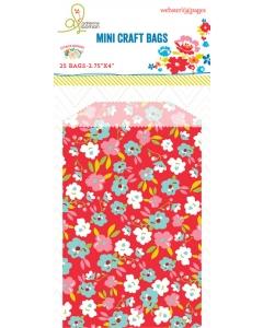 Bulk Bags: Floral Red