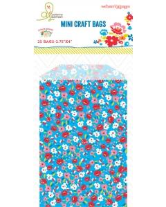 Bulk Bags: Floral Blue