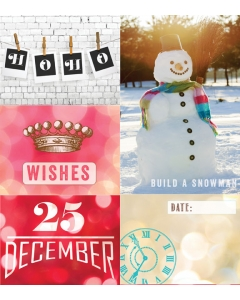 FREE - All that Glitters Card Set 6