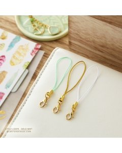 Little Loops- Gold Mint