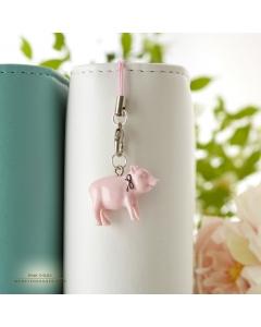 Pink Piggy Charm