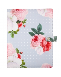 Composition Planner Grey Floral