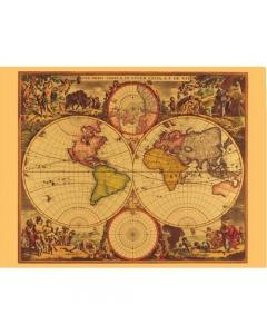De Witt World Map