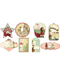 Designer Holiday Gift Tags