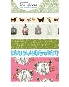 Everyday Poetry Fabric Ribbon