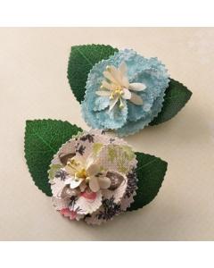 Fabric Flowers - Ladies & Gents