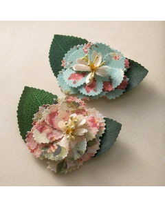 Fabric Flowers - Country Estate