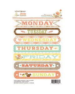Family Traditions Sentiment Sticker