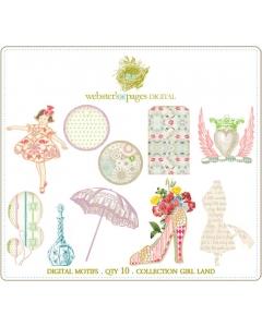 Girl Land Designs Digi Motifs