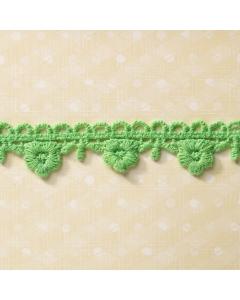 Green Flowerdrop Trim