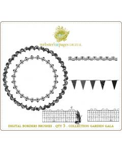 Garden Gala Borders Brushes