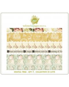 In Love Digi Fabric Trim