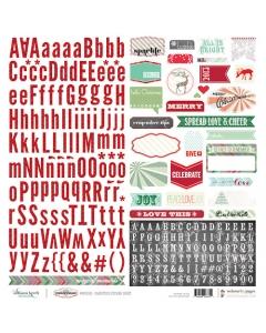 It's Christmas Alpha Sticker
