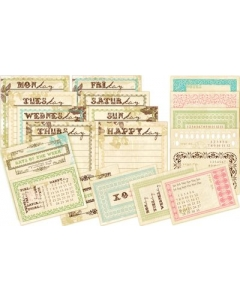 Journaling Cards- Postcards from Paris