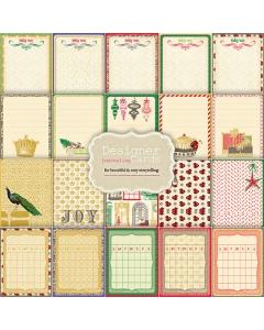 Journaling Cards - Royal Christmas