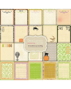 Journaling Cards - Once Upon A Halloween