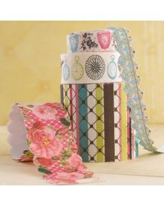 Ladies & Gents Fabric Ribbon
