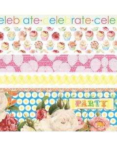 Let's Celebrate Fabric Ribbon
