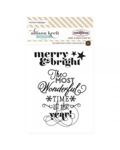 Merry & Bright Mini Stamp Set