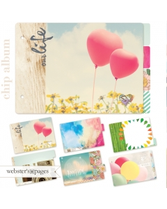 Dream in Color Chipboard Album