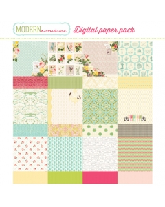 Modern Romance paper collection