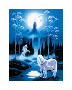 Moonlit Unicorn and Foal