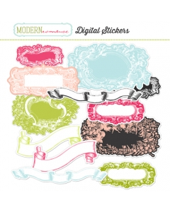 MR digital stickers