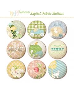 NB digital fabric buttons