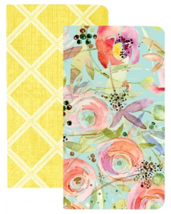 TGL Traveler Notebooks - Trellis&Flowers