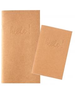 Pocket TN Size-Kraft Blank 2-pc Ntbk