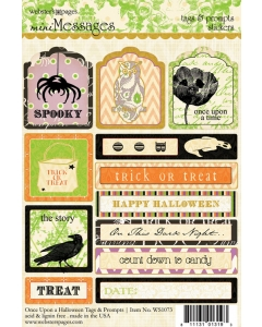 Once Upon A Halloween Tags & Prompts