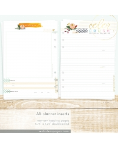 A5 Memory Keeping Inserts